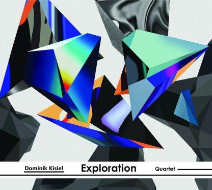 """Dominik Kisiel Quartet """"Exploration"""" Okładka"""